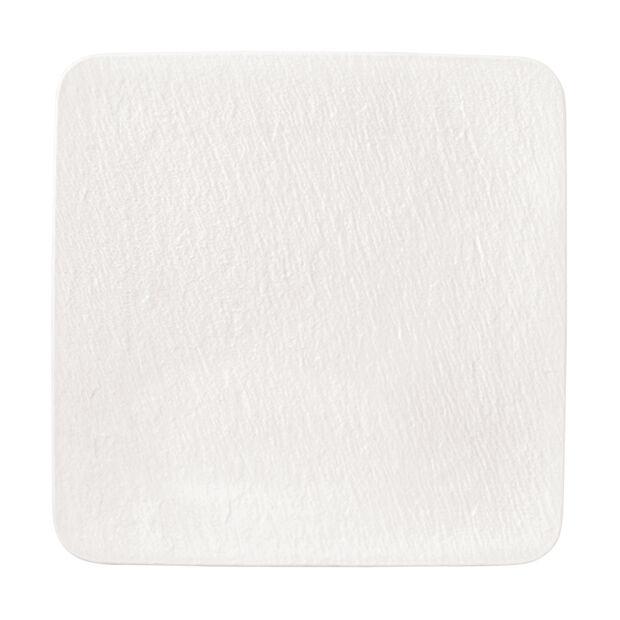 Manufacture Rock Blanc quadratische/r Servierplatte/Gourmetteller, weiß, 32,5 x 32,5 x 1,5 cm, , large