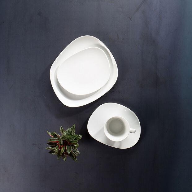 Organic White Frühstücksteller, weiß, 21 cm, , large