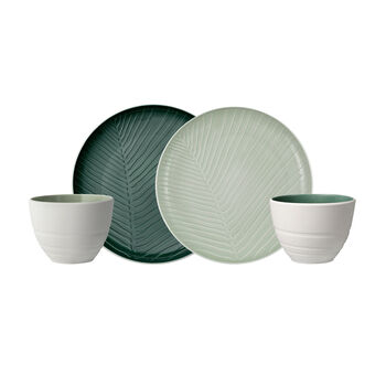 like.by Villeroy & Boch it's my match mineral Shades of Green Set, 4-teilig