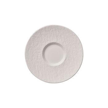 Manufacture Rock Blanc Café au lait Untertasse, 17 cm