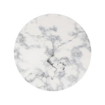 Marmory Speiseteller White, 27x27x1,5cm