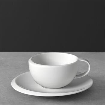 NewMoon Kaffeetasse mit Untertasse 2tlg. 17x17x6,5cm
