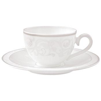 Gray Pearl Kaffee-/ Teetasse mit Untertasse 2-tlg.