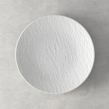 Manufacture Rock Blanc Universalteller Coupe, 25 cm