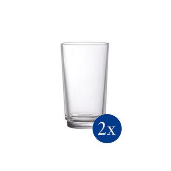 like. by Villeroy & Boch it's my match Longdrinkglas-Set, klar, 8 x 14 cm, 2-teilig