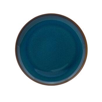 Crafted Denim Speiseteller, blau, 26 cm
