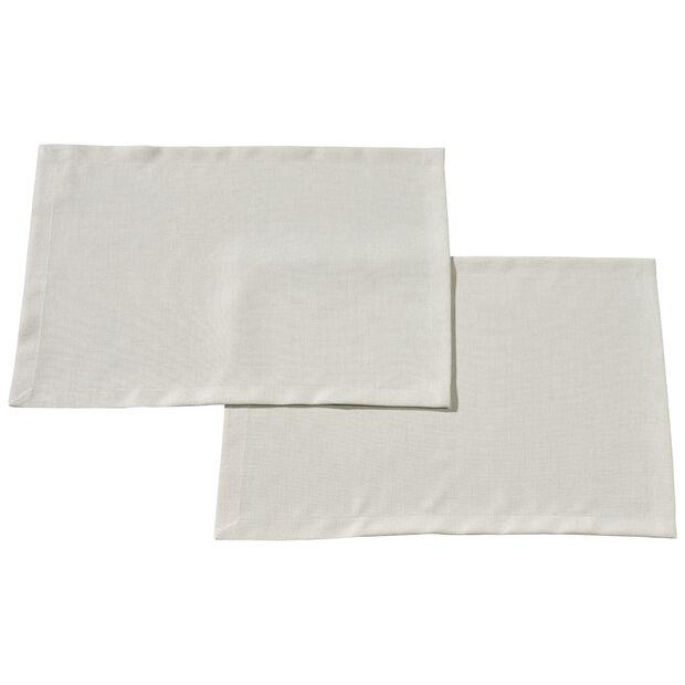 Textil Uni TREND Platzset Stein S2 35x50cm, , large