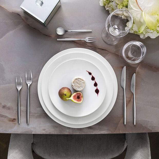 MetroChic blanc Dessert-/Frühstücksteller 22x22x2cm, , large