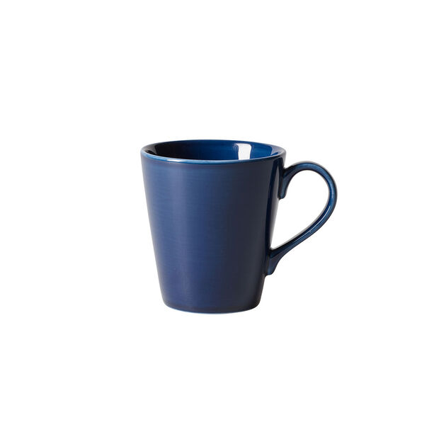 Organic Dark Blue Becher mit Henkel, dunkelblau, 350 ml, , large