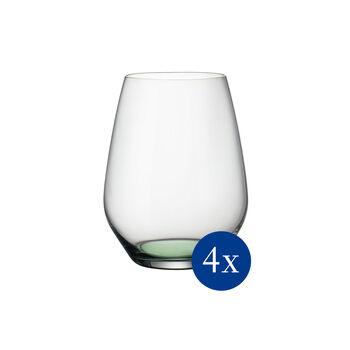 Colourful Life Green Apple Cocktail-/Wasserglas-Set 4-teilig