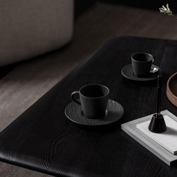 Manufacture Rock Kaffeetasse, schwarz/grau, 10,5 x 8 x 7,5 cm, , large