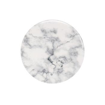 Marmory Frühstücksteller White, 21x21x1,5cm