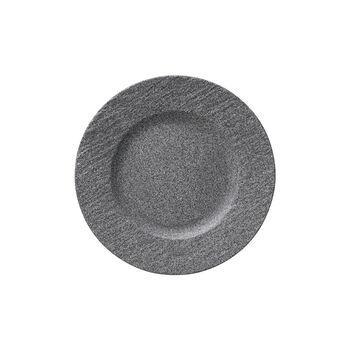 Manufacture Rock Granit Frühstücksteller, 22 cm, Grau