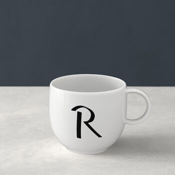 Letters Becher R 13x10x8cm