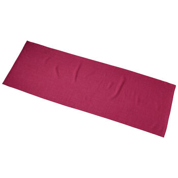 Textil Uni TREND Läufer Red Plum 50x140cm
