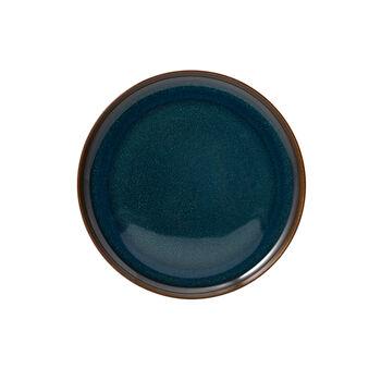 Crafted Denim Frühstücksteller, blau, 21 cm