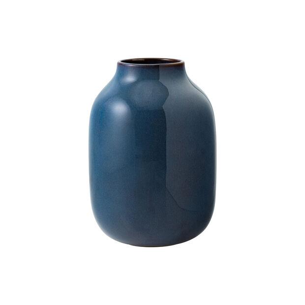 Lave Home Vase Shoulder, 15,5x15,5x22cm, Bleu uni, , large
