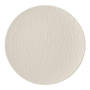 Manufacture Rock blanc Gourmetteller 31,5x31,5x2,5cm