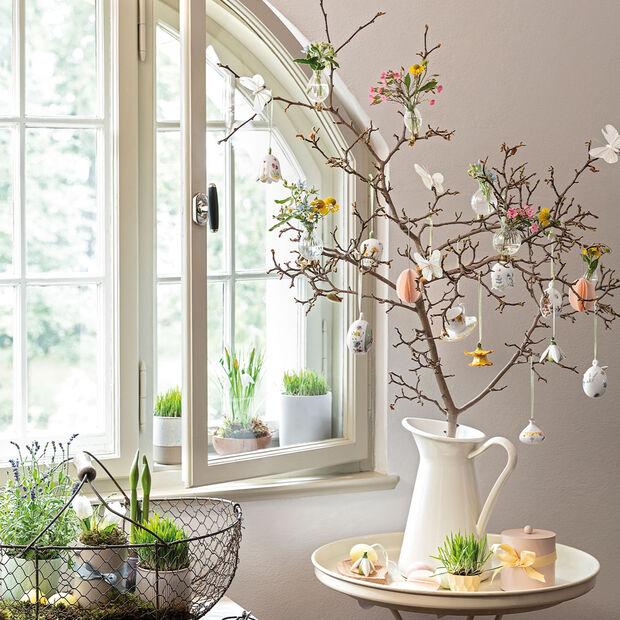 Mini Flower Bells Porzellananhänger Schneeglöckchen 2er-Set, , large