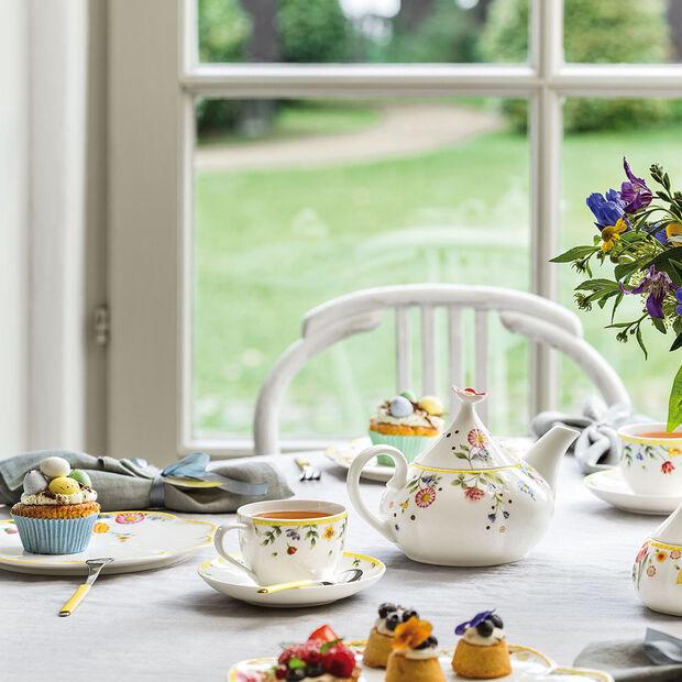 Spring Awakening Kaffee-Untertasse Blumenwiese, , large