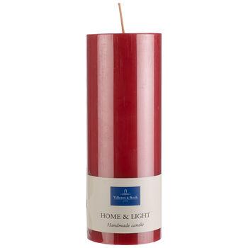 Essentials Kerzen Rot Pillar 19cm