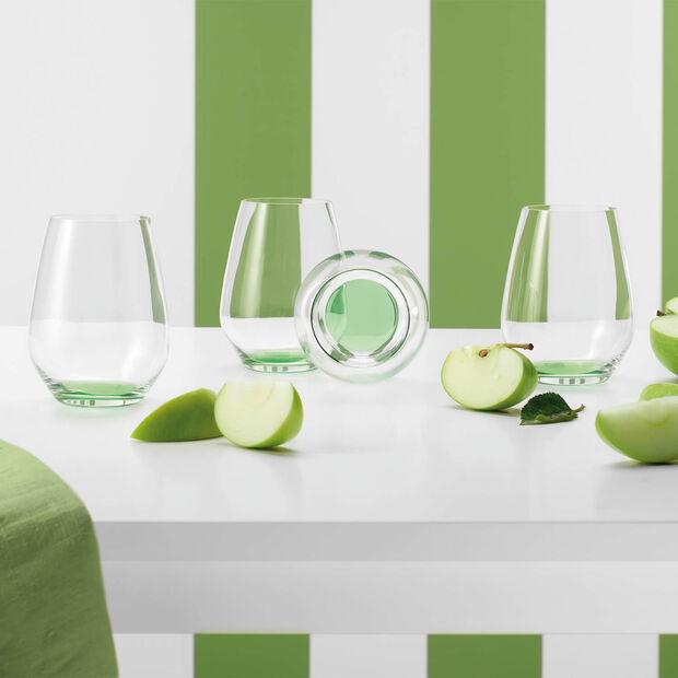 Colourful Life Green Apple Cocktail-/Wasserglas-Set 4-teilig, , large