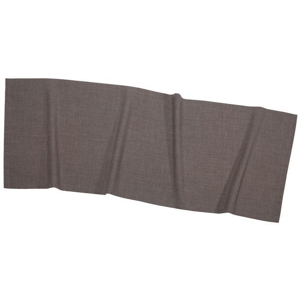 Textil Uni TREND Tischläufer grafit 50x140cm, , large