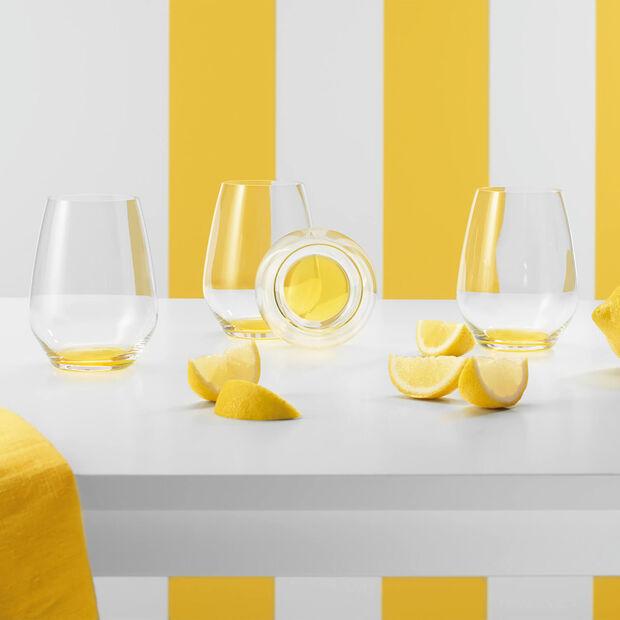 Colourful Life Lemon Pie Cocktail-/Wasserglas-Set 4-teilig, , large