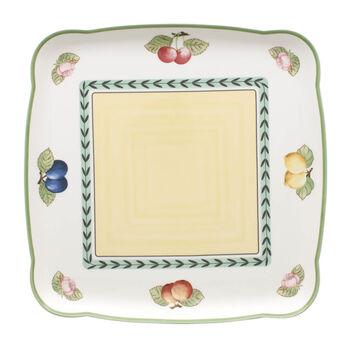 Charm & Breakfast French Garden Platte quadratisch 30cm