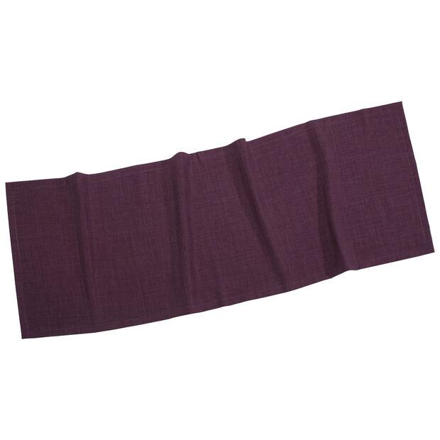 Textil Uni TREND Tischläufer violett 50x140cm, , large