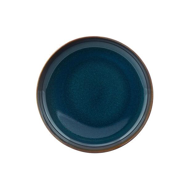 Crafted Denim Suppenteller, blau, 21,5 cm, , large