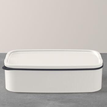 ToGo&ToStay Lunchbox, 20x13x6cm, eckig, weiß