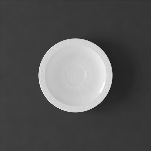 White Pearl Mokka-/Espressountertasse, , large