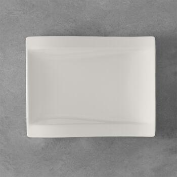 NewWave rechteckiger Frühstücksteller 26 x 20 cm
