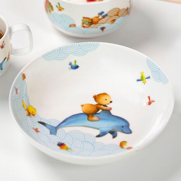 Happy as a Bear Kinderteller tief 18,5x18,5x4,5cm, , large