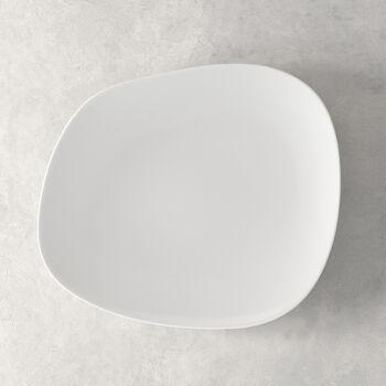 Organic White Speiseteller 28 x 24 x 3cm