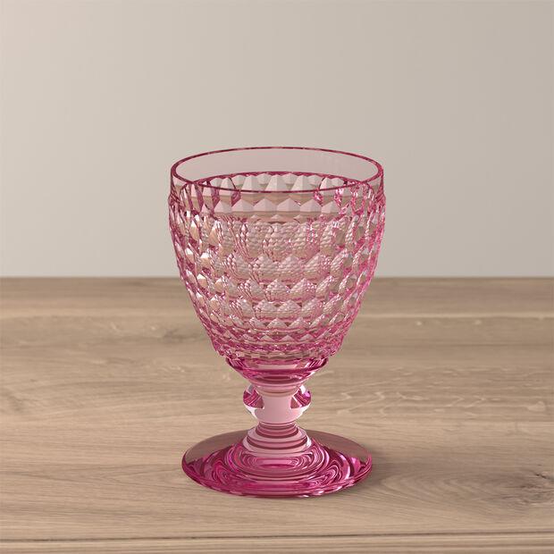 Boston Coloured Weißweinglas Rose, , large