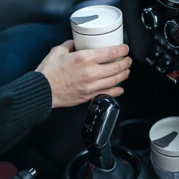 To Go Coffee-Becher, 350 ml, Weiß, , large