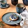 Crafted Breeze Speiseteller, graublau, 26 cm, , large