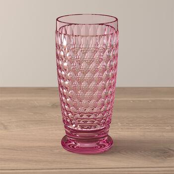 Boston Coloured Longdrink-Glas Rose