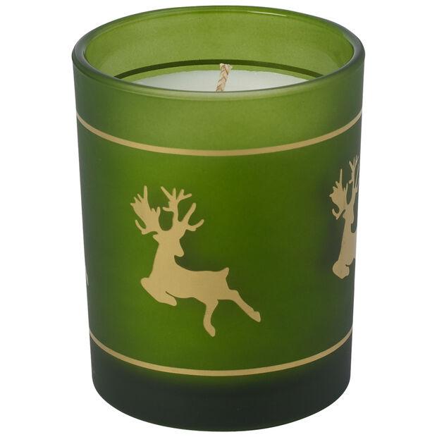 Winter Specials Votive grün 7,5x9,5cm, , large