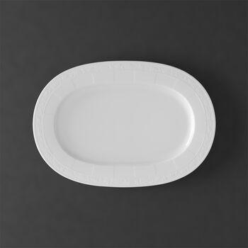 White Pearl Platte oval 41cm