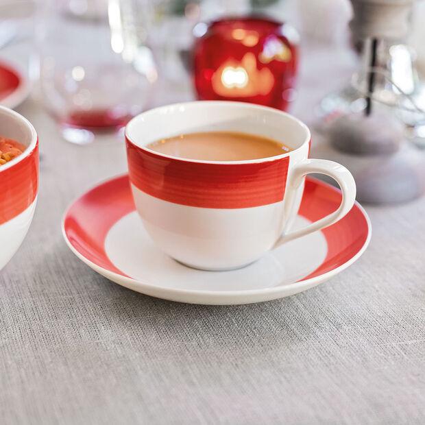 Colourful Life Deep Red Kaffee-Untertasse, , large