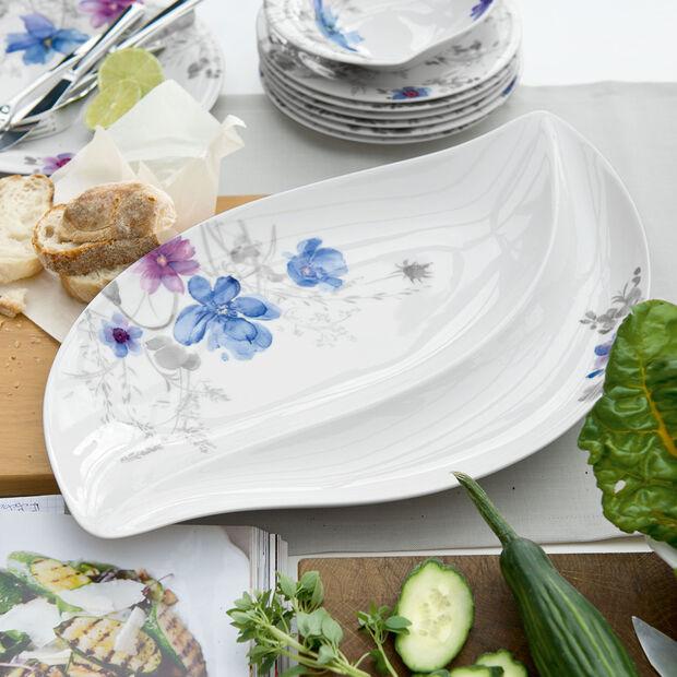 Mariefleur Gris Serve & Salad Servierteller 50x30cm, , large