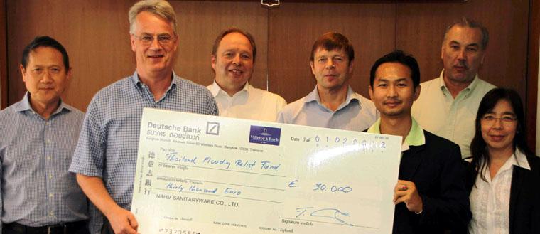 Spendenaktion f r villeroy boch mitarbeiter in thailand - Villeroy boch thailand ...