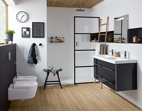 badinspiration tipps und ideen f r ihr badezimmer villeroy boch. Black Bedroom Furniture Sets. Home Design Ideas