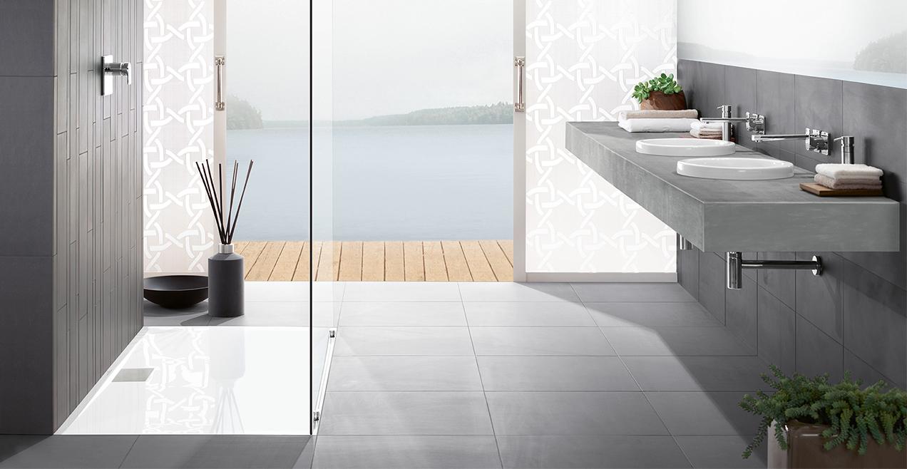 Badezimmer fliesen trends 2017  Badtrends - Wohlfühlen auf höchstem Niveau - Villeroy & Boch