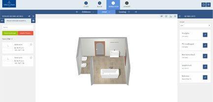 Badplaner  Badplaner - das eigene Traumbad online gestalten | Villeroy & Boch