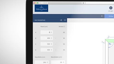 Badplaner - das eigene Traumbad online gestalten | Villeroy & Boch
