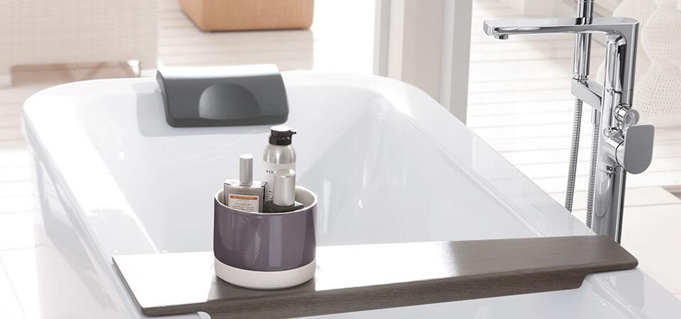 Kleines Bad mit Badewanne - Was ist möglich? - Villeroy & Boch